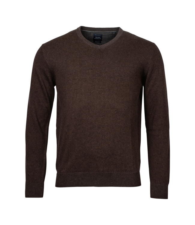 Baileys Pullover V-Neck - Dark Brown