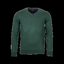 V-hals Trui - Dark Green