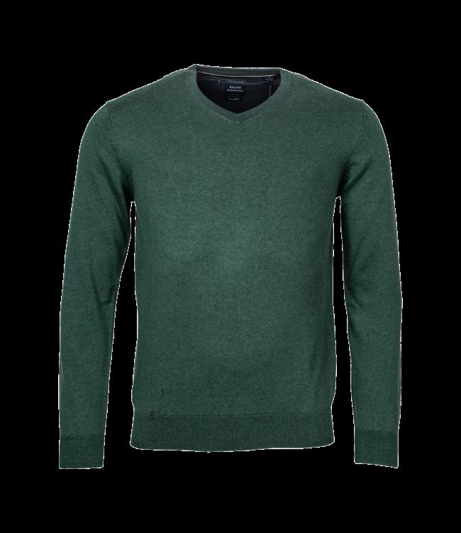 Baileys Sweater V-Neck - Dark Green