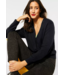 Street One Cardigan with Buttons - Black