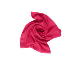 Cecil - Hibiscus Red / Bright Blue / Deep Blue
