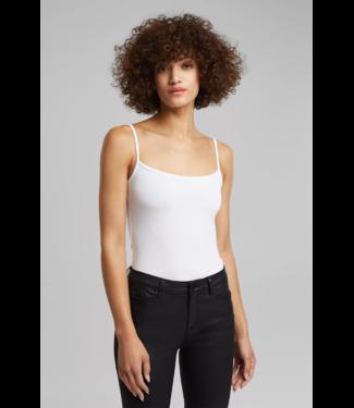 Esprit Jersey-Stretch-Top mit Spaghettiträgern - White