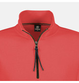 Lerros Klassieke Rugby Sweat - Red