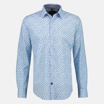 Overhemd met Lange Mouw en Minimale Opdruk - Sky Blue