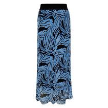 Plissé Rok Fien - Zebra Ice Blue