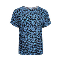 Top Femke - Flower Ice Blue