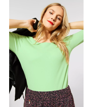 Street One Basic Shirt Pania - Frosted Pistachio