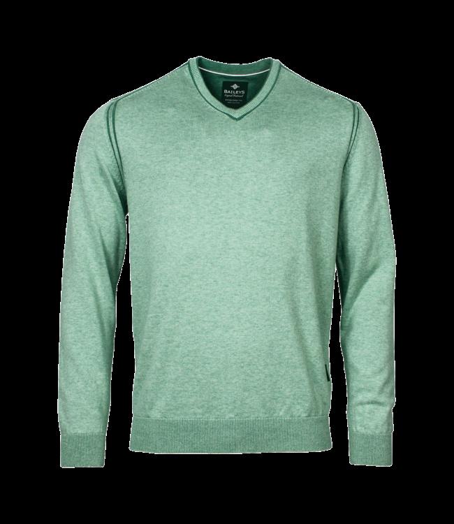 Baileys Pullover V-Neck - Light Green