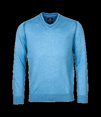 Baileys Pullover V-Neck - Blue