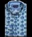 Giordano Button-Down Hemd mit Allover Print - Dark Green