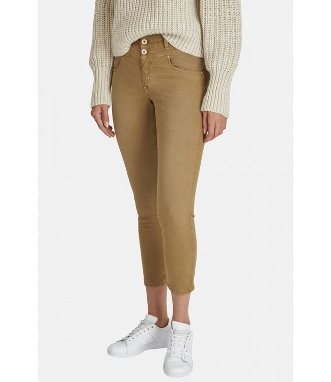 Angels Jeanswear Ankle Jeans Ornella Button - Safari Used