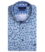 Giordano Kurzarm Hemd mit Avocado Print - Aqua Blue