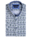 Giordano Shirt with Short Sleeves and Print - Dark Green