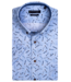 Giordano Overhemd Korte Mouw Lucifer Print - Light Blue