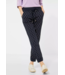 Street One Loose Fit Pants with Print Bonny - Dark Blue