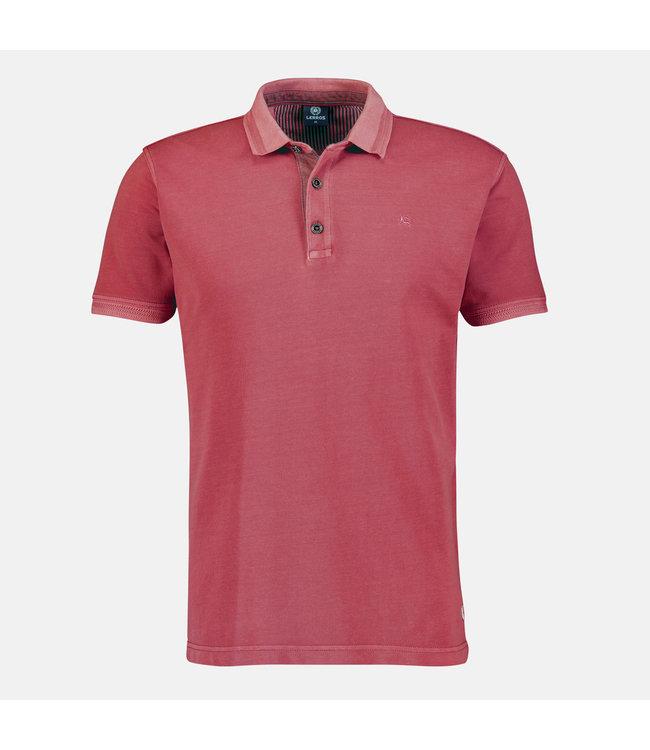 Lerros Poloshirt, Effen - Coral Red