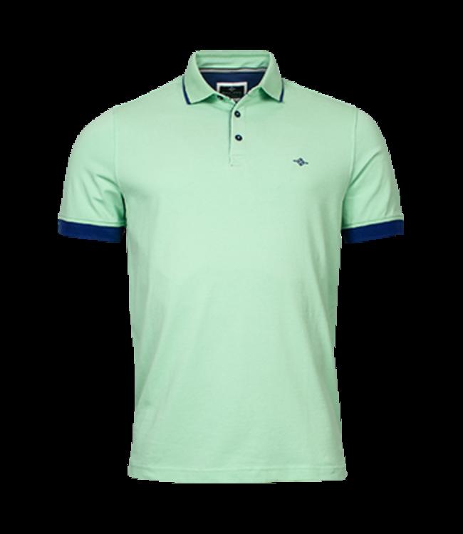 Baileys Jersey Poloshirt mit Stretch - Light Green