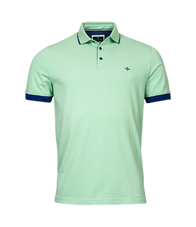 Baileys Polo Shirt with Stretch - Light Green