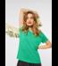 Street One Cosy T-Shirt Gerda - Yucca Green