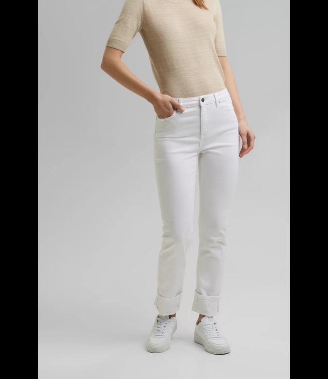Esprit Stretch Jeans, Organic Cotton - White