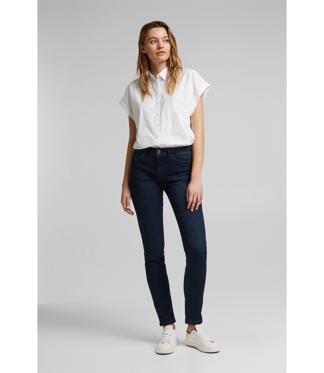 Esprit Jogger Jeans with Organic Cotton - Blue Rinse