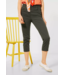 Cecil Slim Fit Pants with High Waist Vicky - Utility Olive