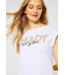 Street One T-Shirt with Print - White