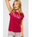 Street One T-Shirt with Print - Spice Red