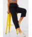 Street One Loose Fit Pants with Wide Leg Emee - Black