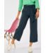 Street One Loose Fit Hose mit Wide Legs Emee - Spruce Green