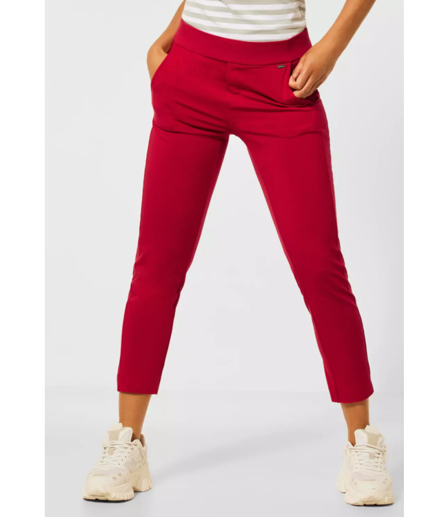 Street One Loose Fit Pants Bonny - Spice Red