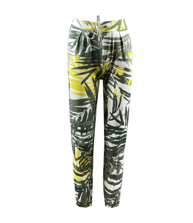 Elvira Collections Hose Tropical - Tropical Yellow