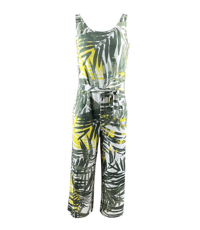Elvira Collections Jumpsuit Tropical - Tropical Yellow