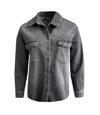 Elvira Collections Bluse Indy - Washed Grey