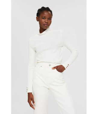 Esprit Longsleeve with Cotton - Off White