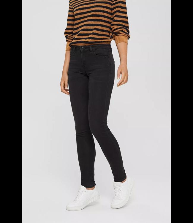 Esprit Jogger Jeans with Organic Cotton - Black Dark Wash