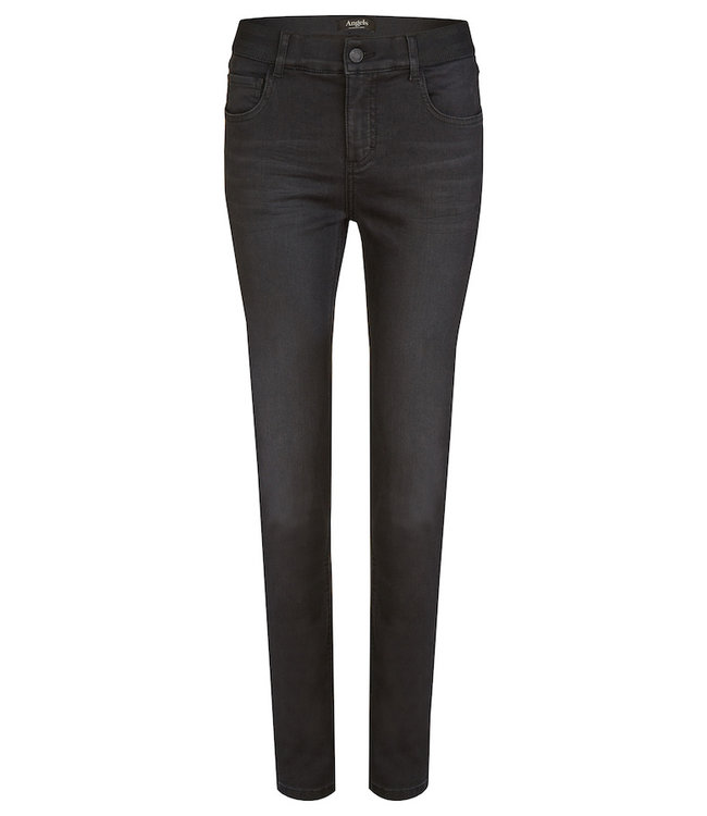 """Angels Jeanswear Jeans """"One Size Fits All"""" - Anthracite Used"""