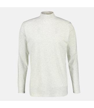 Lerros Shirt Lange Mouw met Col - Cream White Melange