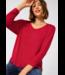 Street One Basic Shirt with Pleats Ellen - Full Red Melange