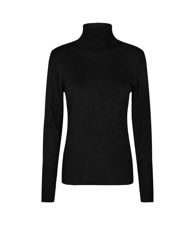 Soyaconcept Sweater with Turtleneck Dollie 145 - Black