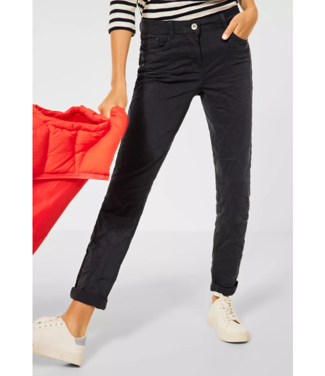 Cecil Casual Fit Pants Gesa - Carbon Grey