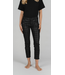 Angels Jeanswear Skinny Ankle Zip with Check - Black