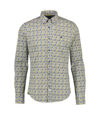 Lerros Stretch Overhemd, Button-Down - Oily Yellow