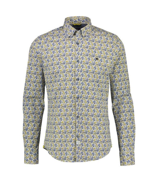 Lerros Stretch Shirt, Button-Down - Oily Yellow