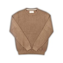 Vintage Wash Sweater - Brown