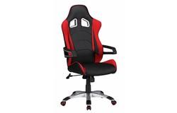 Speed Bureaustoel Zwart/Rood
