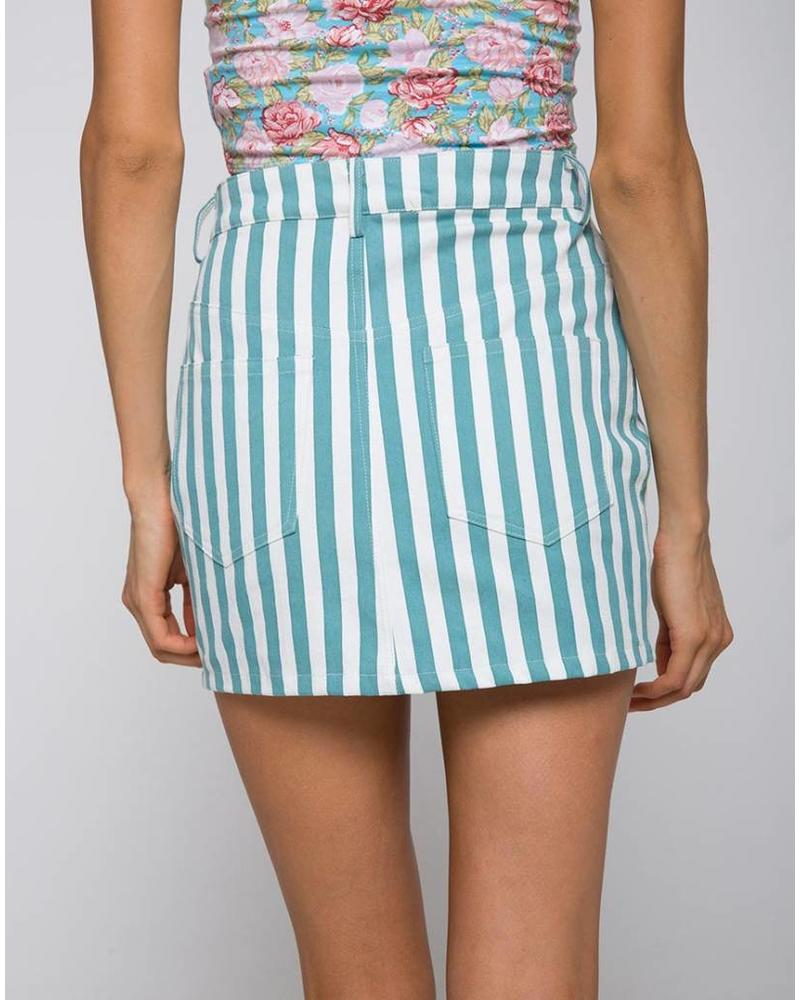 Motel Broomy Mini Skirt