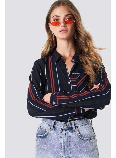 Rut and Circle Evelyn Shirt