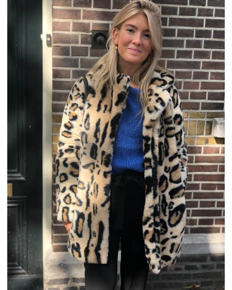 Rut and Circle Nova Faux Fur Leo Jacket