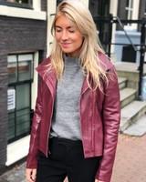 AIM Leather Jacket TW18